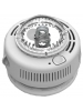 BRK 7010BSLA - 120V AC Wire-in with 3 Volt 2 AA Battery Backup - Photoelectric Sensor - Smoke Alarm with Strobe Light for the Hearing Impaired